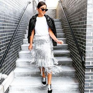 e738c6807b Women Zara Sequin Skirt on Poshmark